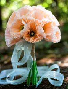 iceland poppies bouquet